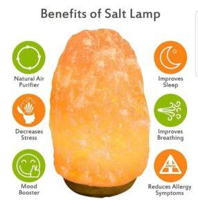 benefits of salt lamp