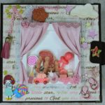 SCRAP BOOK ALBUM NEW BORN BABY GIRL