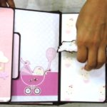 srap book album baby girl @craftpriti.com