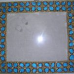 CLASSIC INDIAN ART: MEENAKARI PHOTO FRAME