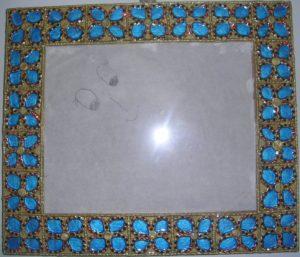 CLASSIC INDIAN ART: MEENAKARI PHOTO PHRAME